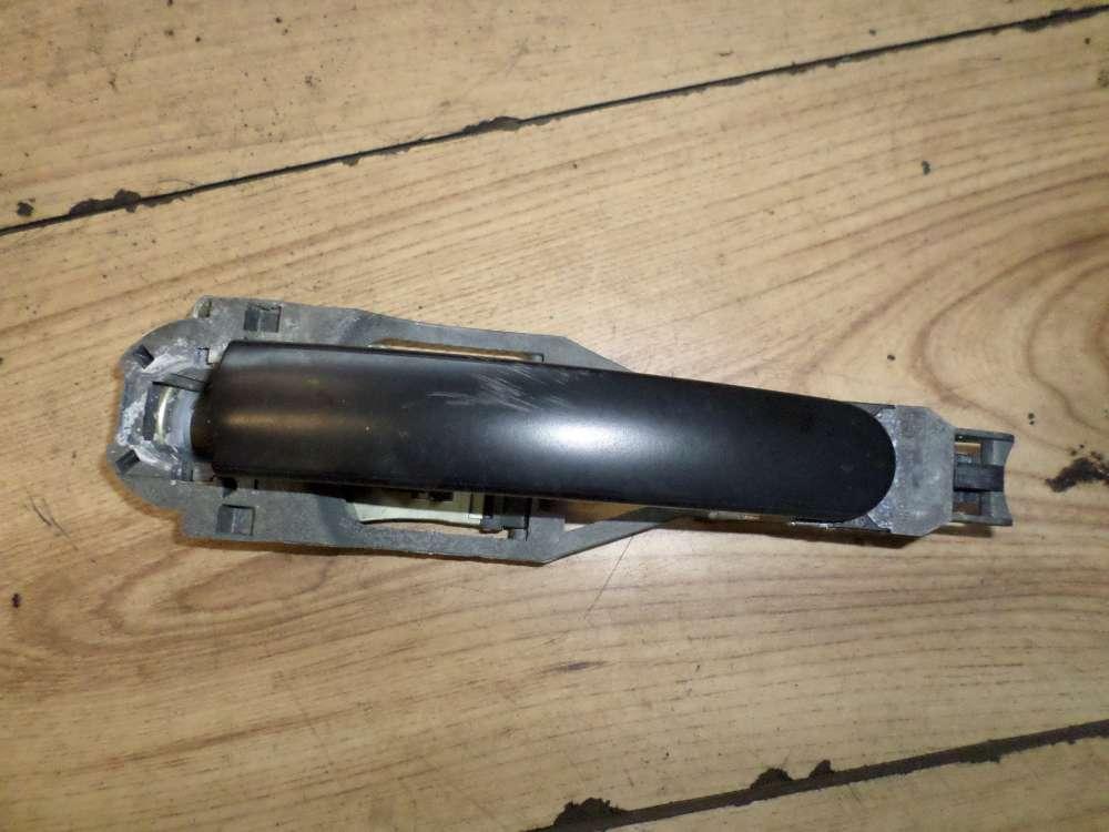 Original VW Golf 4 Türer Türgriff Griff aussen Vorne Links Schwarz 3B0837207