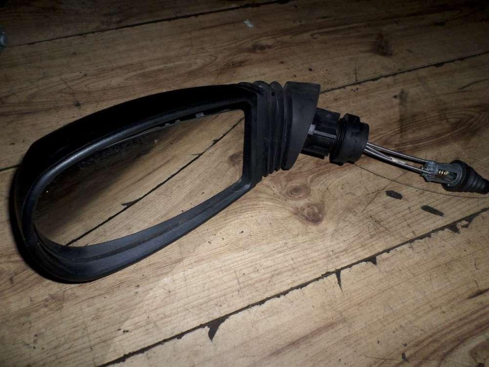 Fiat Punto 188 Außenspiegel Spiegel manuel schwarz Links 0157178