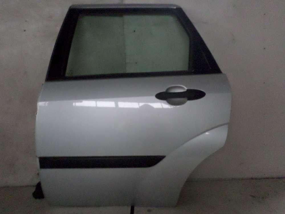 Ford Focus 1.8 TDCi Bj 2002 Tür Hinten Links Kombi Farbe: Silber