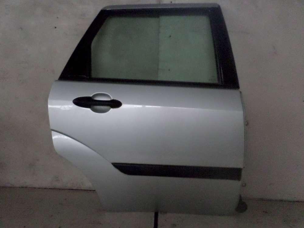 Ford Focus 1.8 TDCi Bj 2002 Tür Hinten Rechts Kombi Farbe: Silber