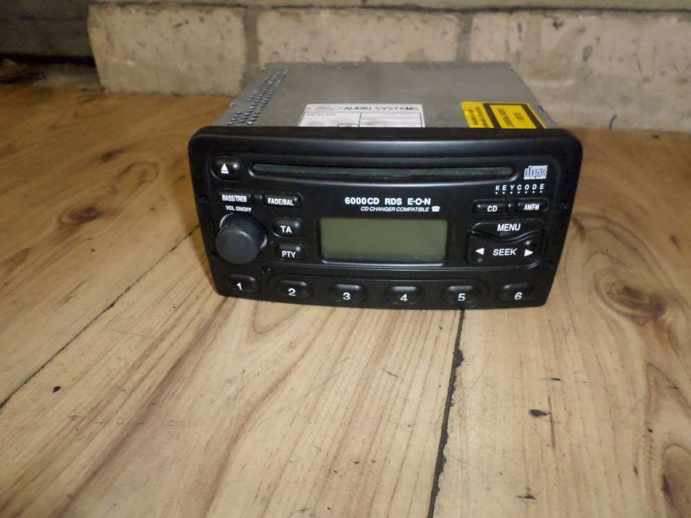Ford Focus Bj.2002 Autoradio Radio CD YS4F-18C815-AA