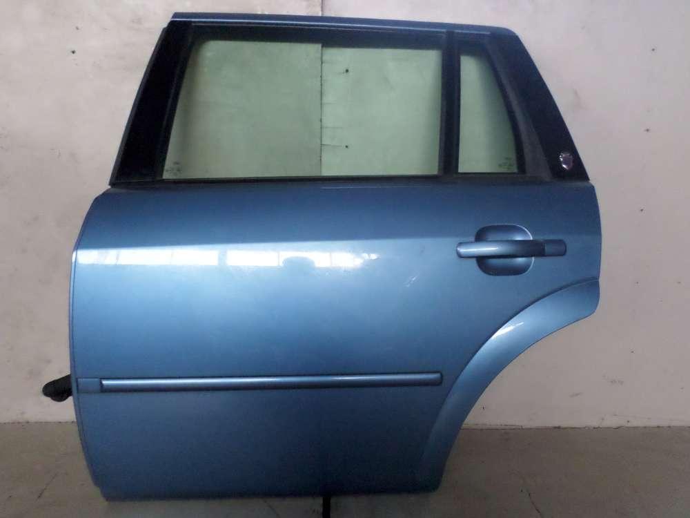 Ford Mondeo III Kombi BWY 5-türen Tür Hinten Links Farbe: Karibikblau
