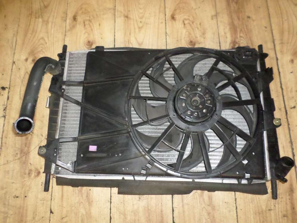 Ford Mondeo Kombi Bj 2002 Wasser-Kühler komplet mit ventilator