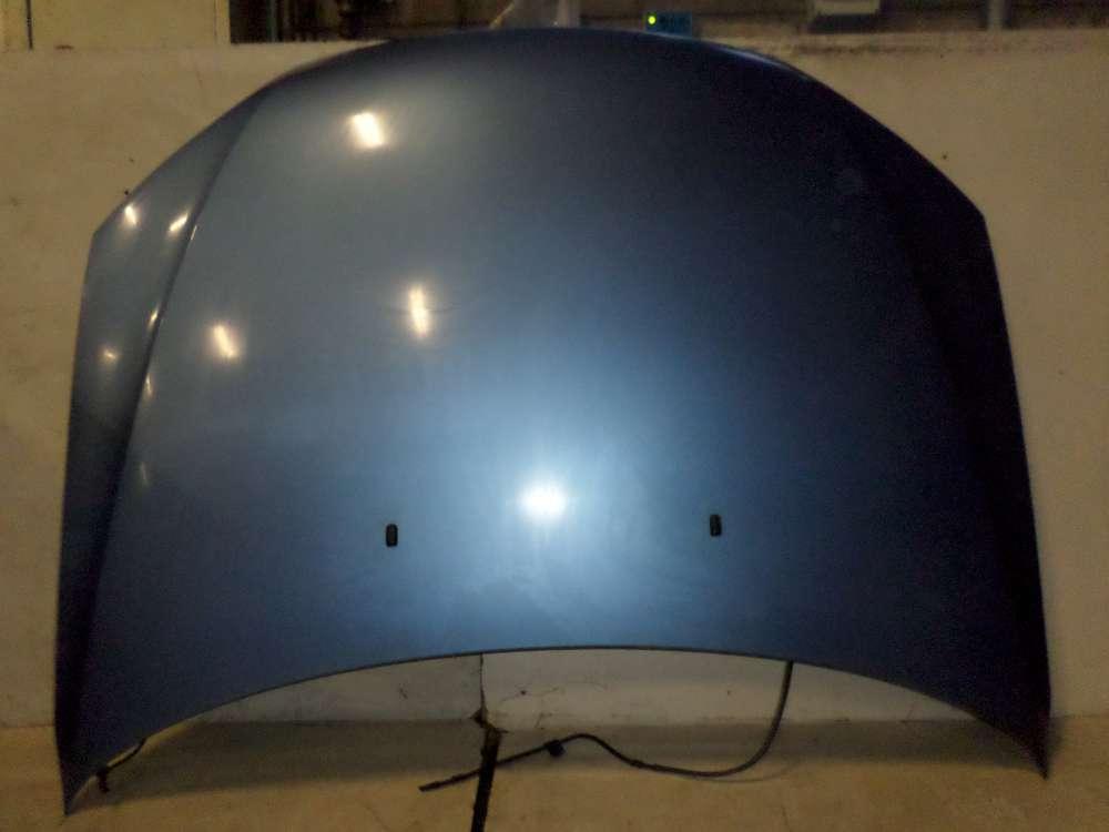 Ford Mondeo 3 III B5Y Bj 2002 Motorhaube Blau Farbcode:01