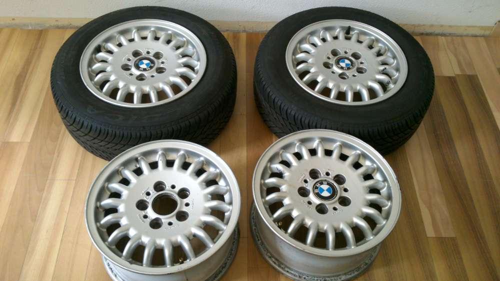 4 x Sommerraifen Alufelgen BMW 7Jx15H2 ET:47 Raifen 205/60 R15 91 H Debica