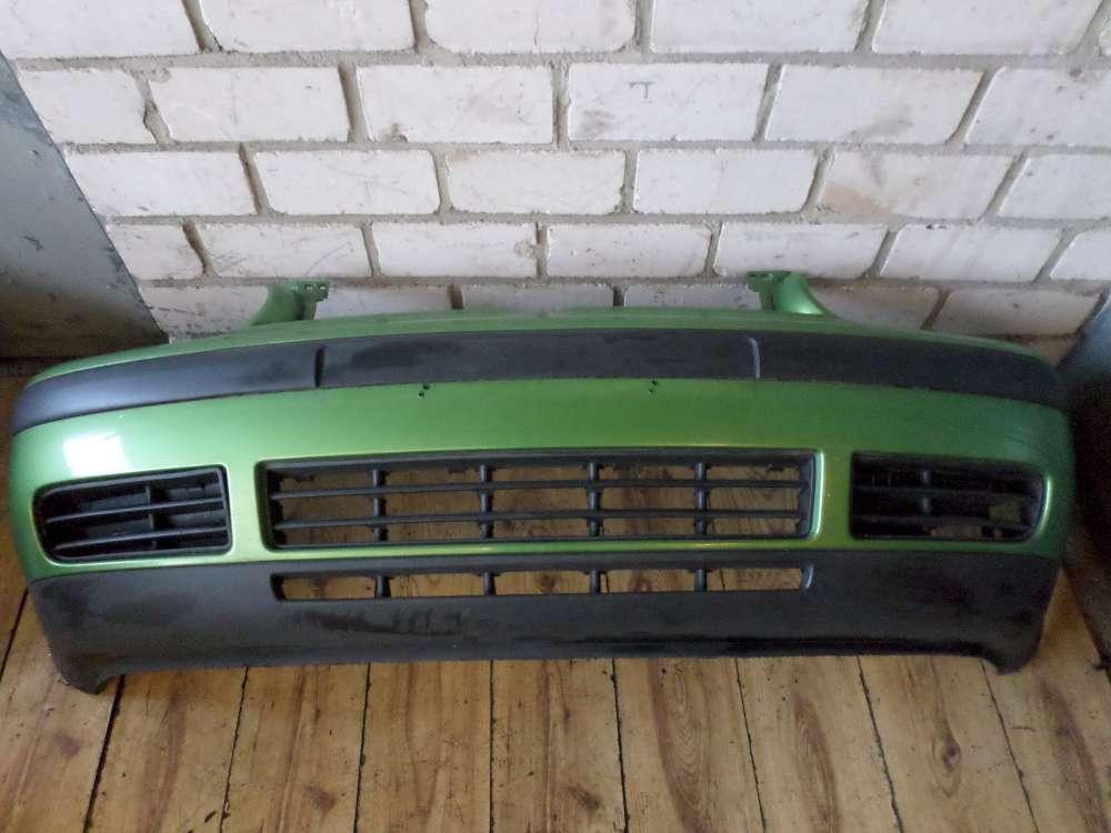 Stoßstange VW Golf IV 4 (1J1) vorne Stoßfänger Frontschürze Farbe:Grün 1J0807221