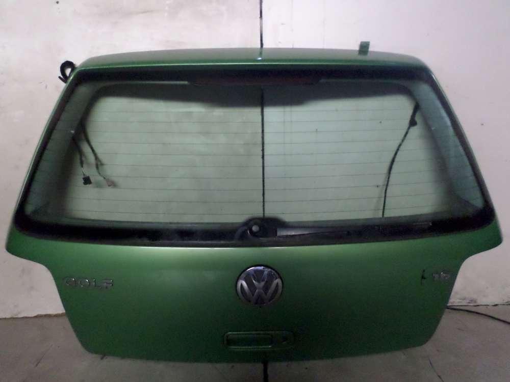 VW Golf IV Bj 1999 5-Türer Original Heckklappe Farbe: Grün
