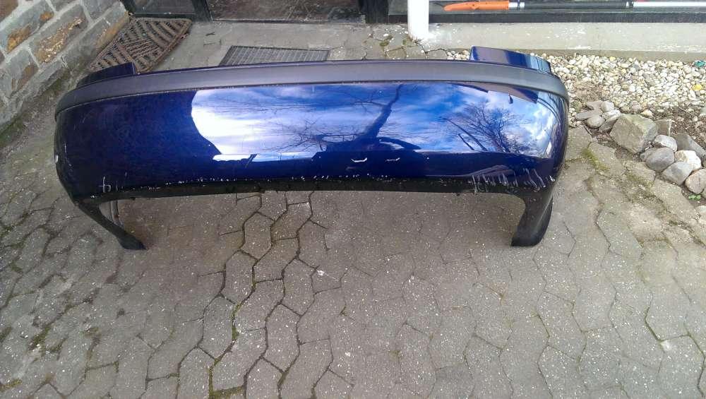 Skoda Octavia Limousine Bj 2002 Original Stoßstange hinten Blau 106 807 421 B