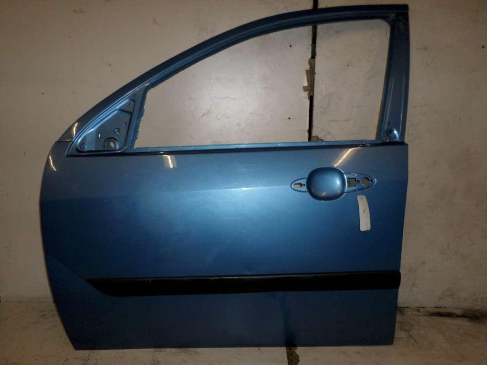Ford Focus I DBW/DFW/DNW Fahrertür Tür Vorne Links Farbe: Blau