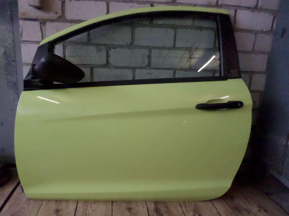 Tür Ford ka Bj.2009 Türe Vorne Links   3-Türer  Farbcode: Grün Z9