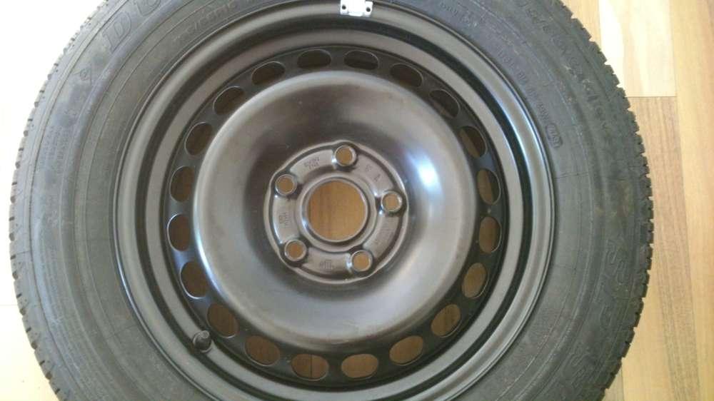 1 x Audi A6 Sommerreife Stahlfelge Dunlop 4B0601027  6Jx15H2 ET45  195/65 R15 91V