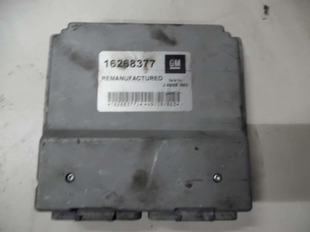 Motorsteuergerät Opel Astra G 1,6l  Bj:1999   GM 16268377