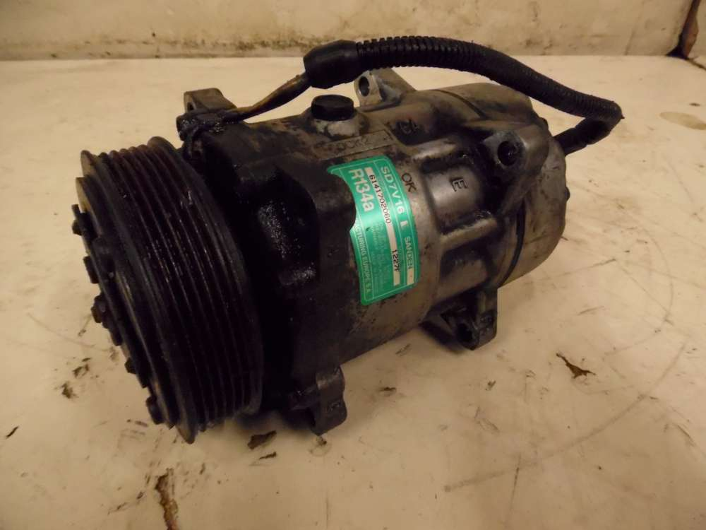 Lancia Zeta Bj 2000   2,0L 80KW Klimakompressor Klima Kompressor  6141702060