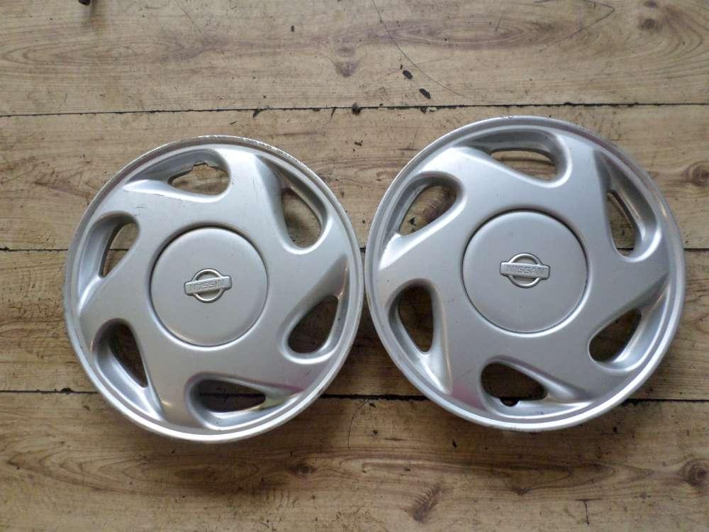 Original Nissan 14 Zoll Radkappen Radblenden 403156F620