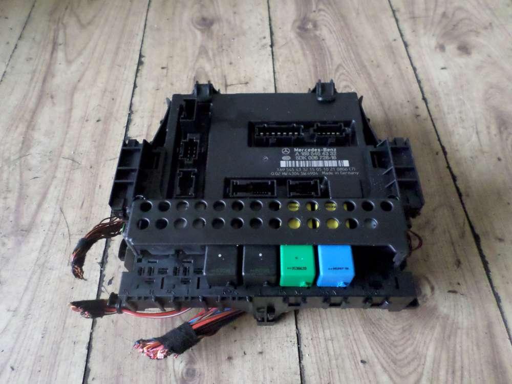 Mercedes A150 Bj:2005 Zentralelektrik Steuergerät 1695454332