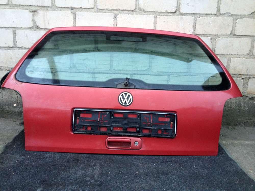 VW Polo 6N 3Türen von 1996 bis 1999 Heckklappe Farbe : Rot