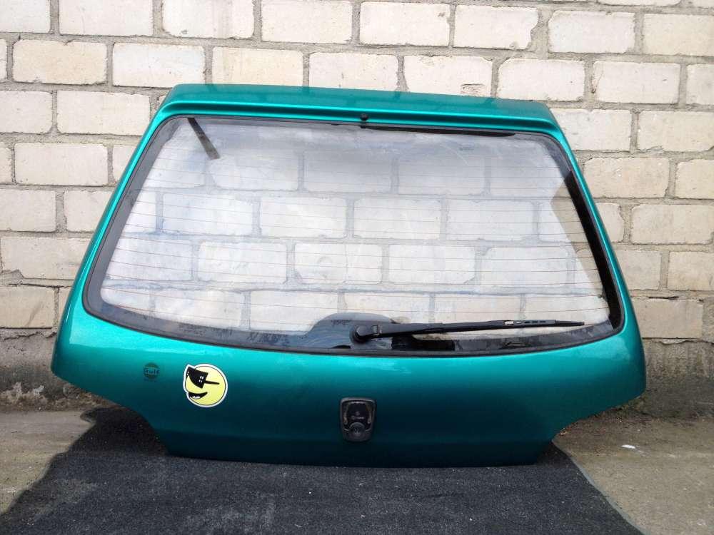 Peugeot 106 Heckklappe Kofferraum Grün 3 Türen