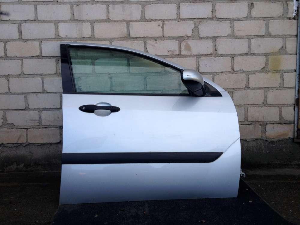 Ford Focus DNW von 1999 bis 2005 Kombi Beifahrertür Tür vorne Rechts Farbe: Silber