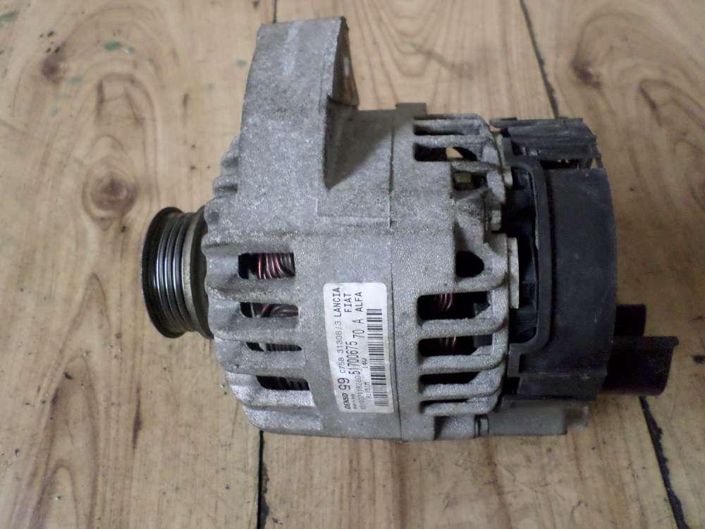 Lancia Zeta 220 Bj.2000 Lichtmaschine Generator Denso 51700675