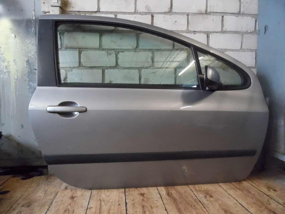 Peugeot 307 Bj 2004 Beifahrertür Tür Vorne Rechts Farbe: Grau EZA