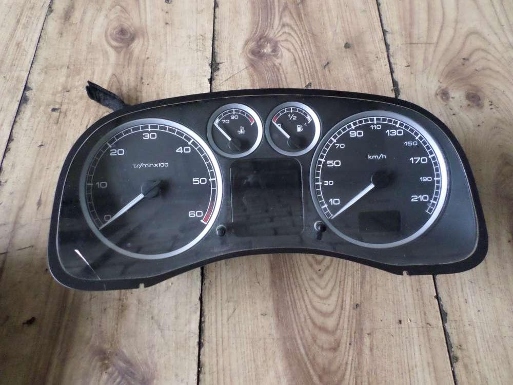 Peugeot 307 Bj:2004 Tacho Kombiinstrument 199961KM 9651299680