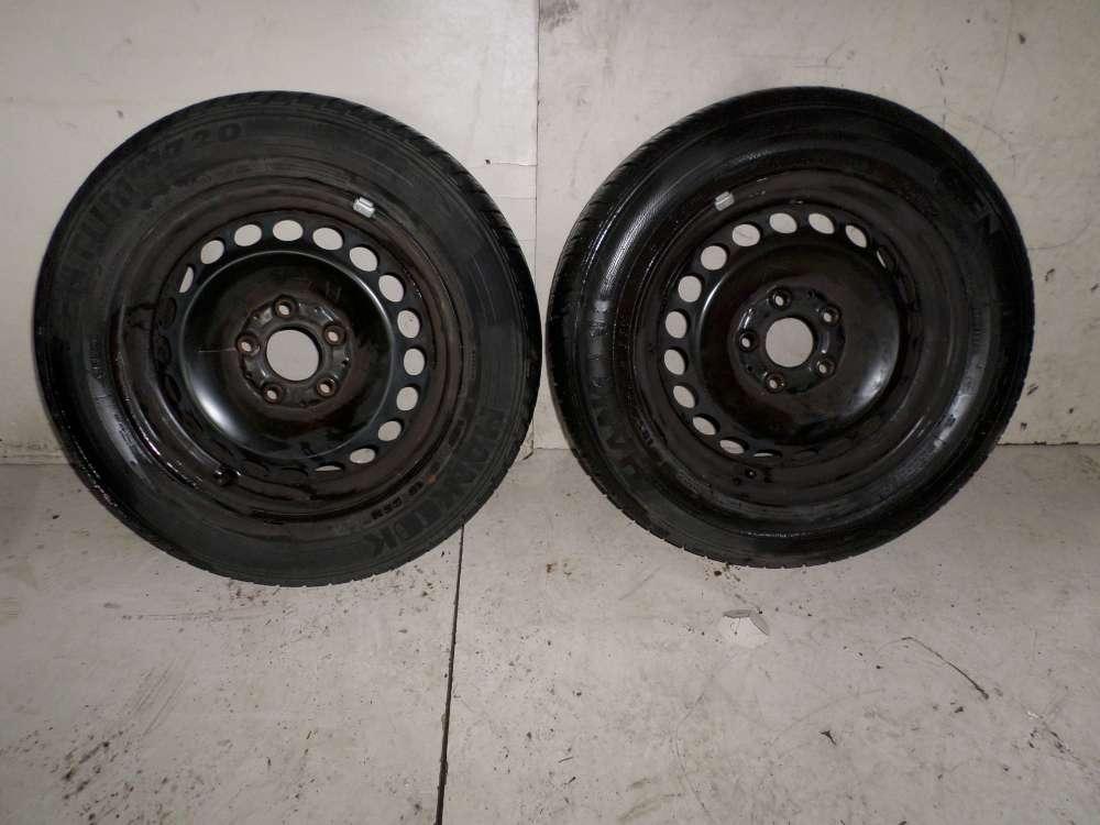 2 Winterreifen Reifen 185/65R15 auf 6Jx15 ET44  Mercedes A-Klasse W169 A150