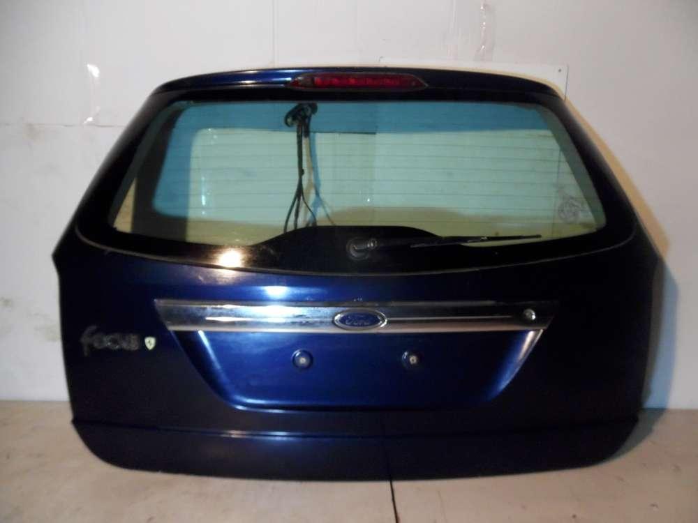 Ford Focus DNW Kombi Bj 2000 Heckklappe Kofferraumklappe Dunkelblau