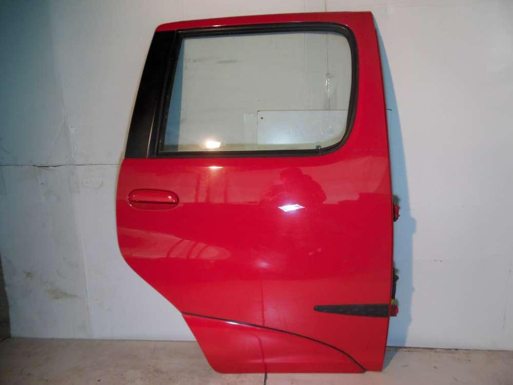 Toyota Yaris Verso Bj 2001 Tür Hinten Rechts Rot Farbcode: 3P0