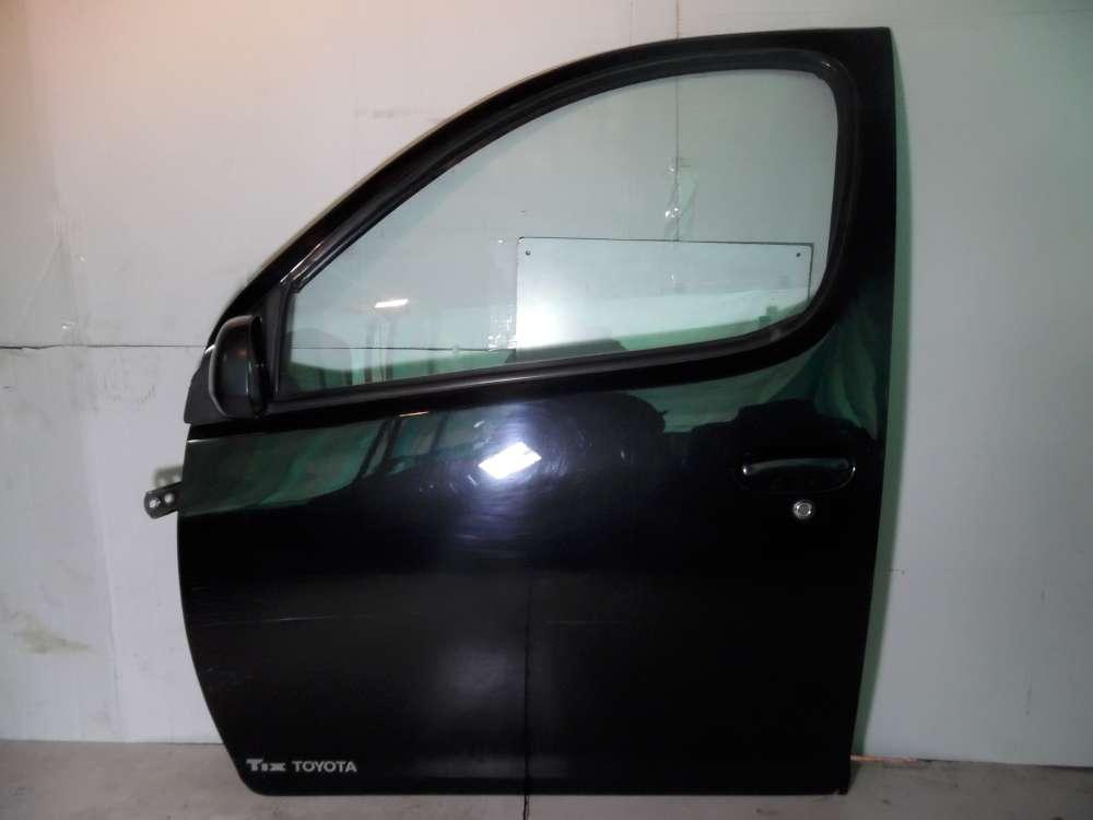 Toyota Yaris Verso Fahrertür Tür Vorne Links Farbe: Schwarz