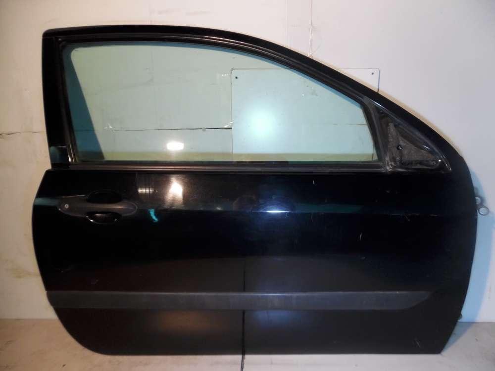 Ford Focus DAW DBW 3-türen von 1998 bis 2004 Tür Vorne Rechts Farbe: Schwarz