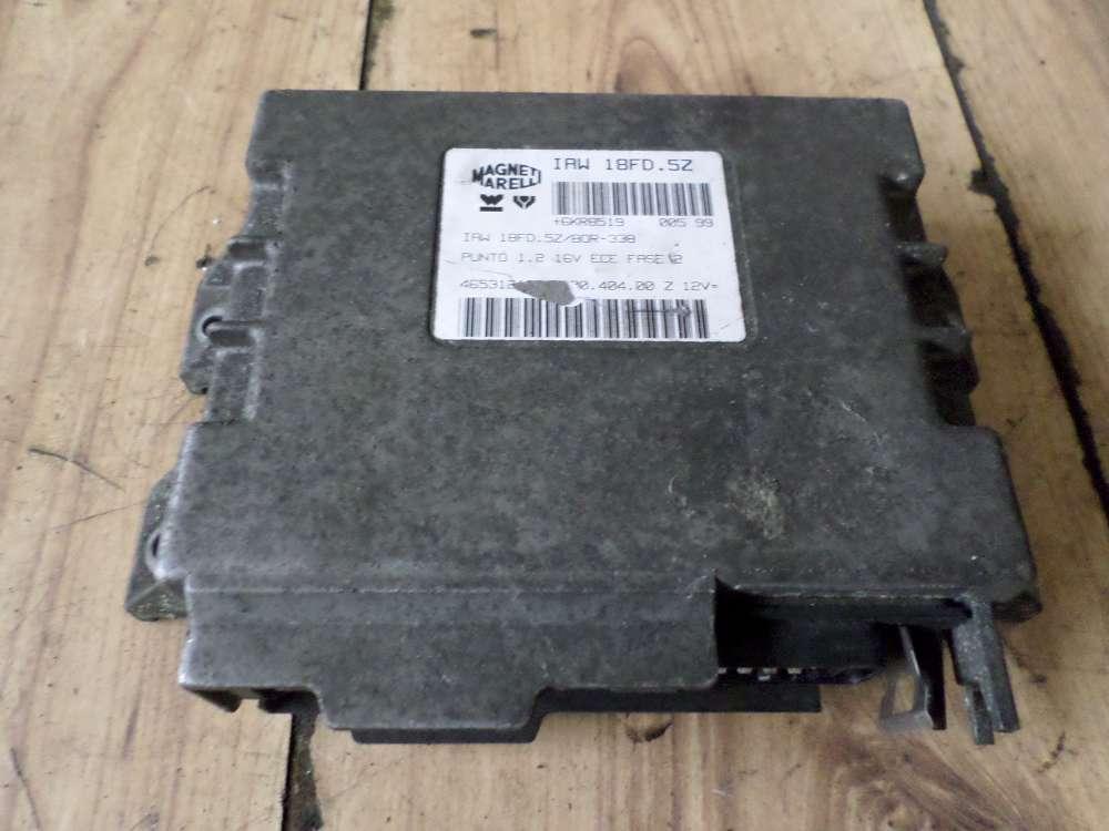 Fiat Idea Bj 2008 Steuergerät Motor Motorsteuergerät 4653121