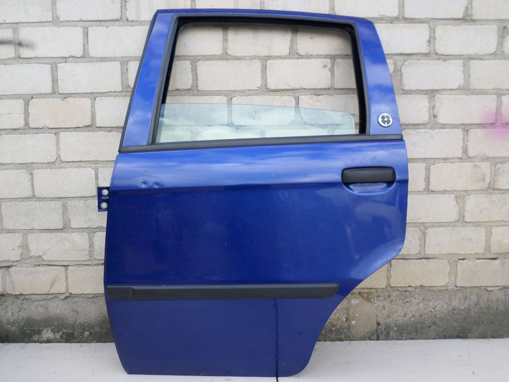 Fiat Idea Bj 2008 Tür Hinten Links Blau Lackcode: 599