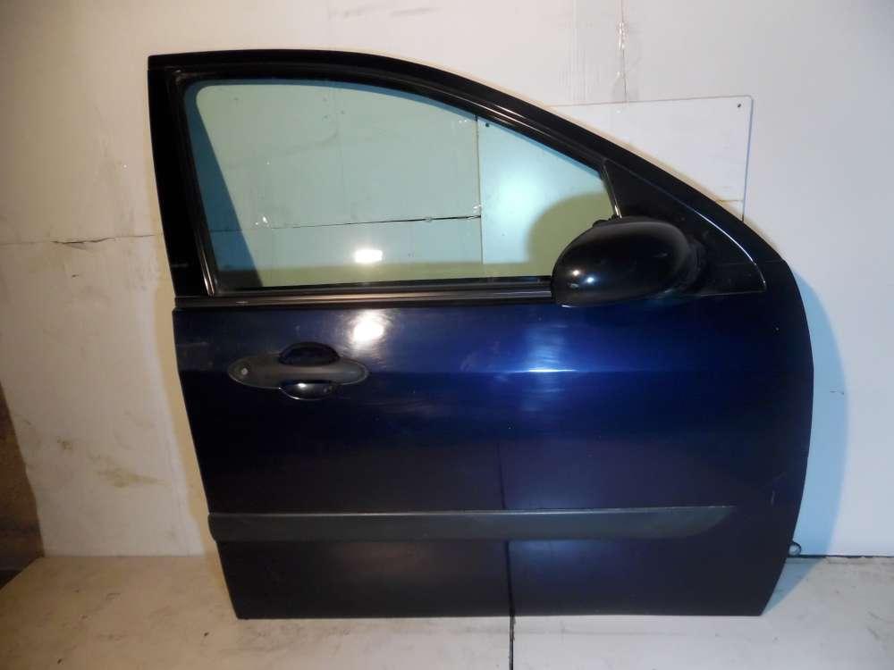 Ford Focus Kombi DNW Fahrertür Tür Vorne Rechts Farbe: Dunkelblau