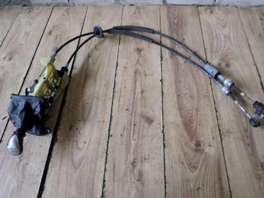 Fiat Idea Bj 2008 Schaltkulisse Schalthebel Schaltseile Schaltseilzug 55349028
