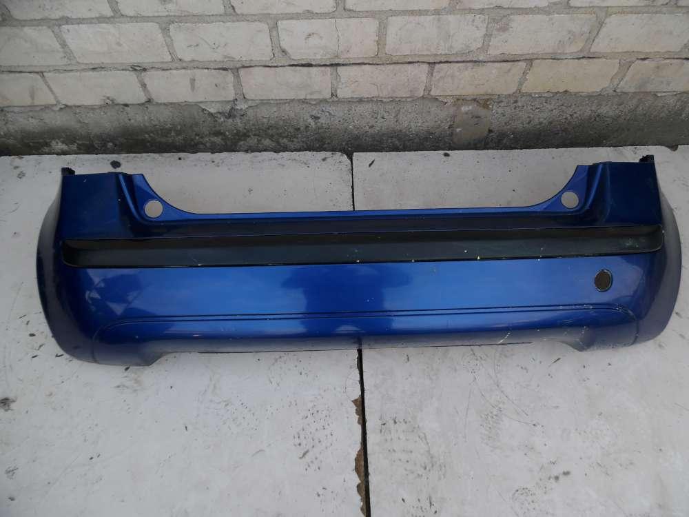 Fiat Idea Bj 2008 Stoßstange Stoßfänger Hinten 735323017 Lackcode: 599 Blau
