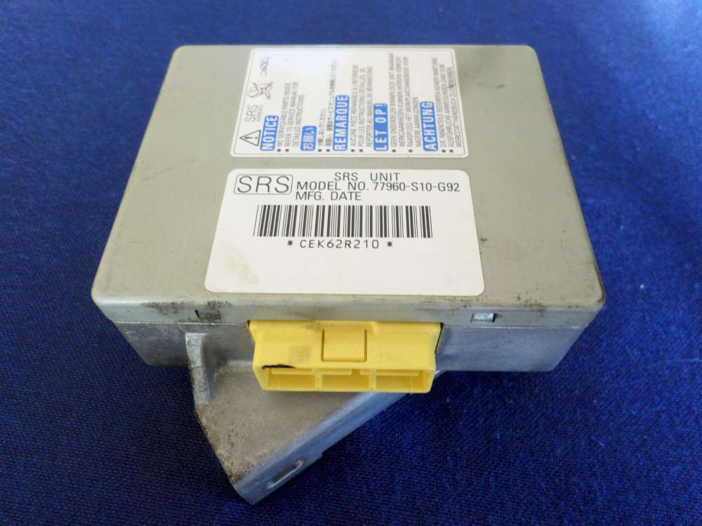 Honda CR-V Bj.2000 Airbagsteuergerät 77960-S10-G92