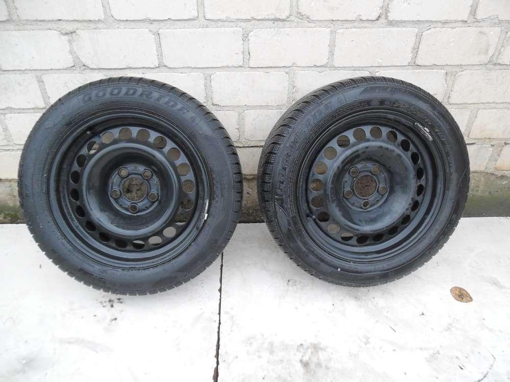 2x winterreifen  20340003  Mercedes C Klasse W203 S203   ET37  7Jx16 205/55R16