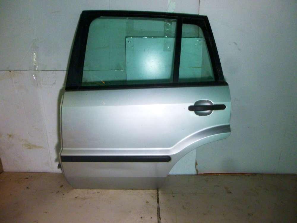 Ford Fusion JU2 Bj 2004 5-türen Tür hinten links Farbe : Silber