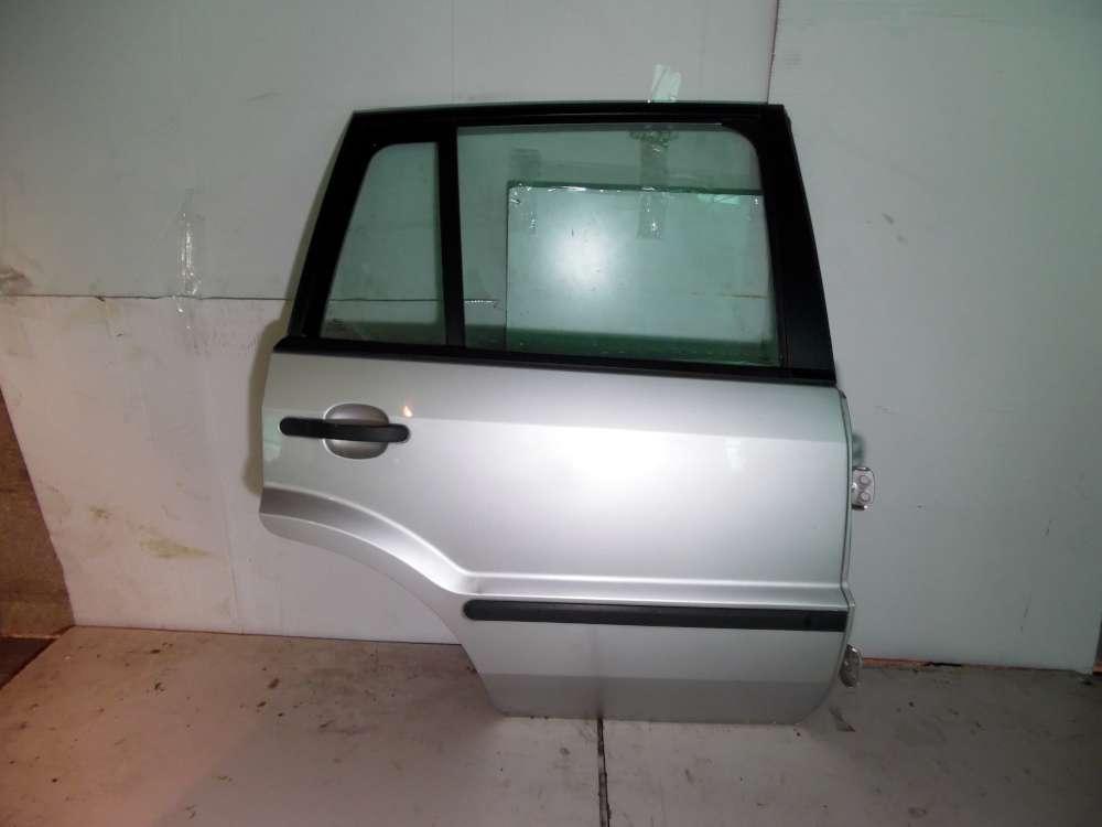 Ford Fusion JU2 Bj 2004 5-türen Tür hinten Rechts Farbe: Silber
