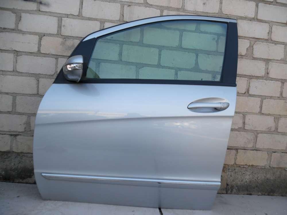 Mercedes Benz A-Klasse W169 Fahrertür Tür Vorne Links Polarsilber Farbcode: 761