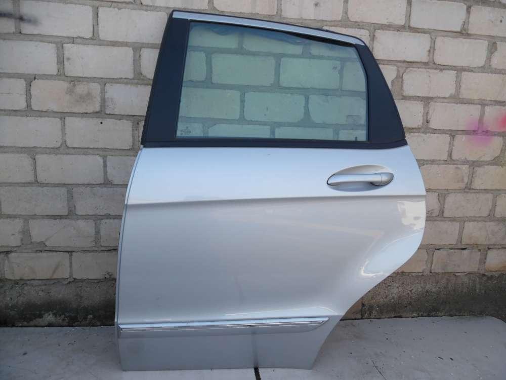 Mercedes Benz A-Klasse W169 Bj 2005 Tür hinten Links Polarsilber Farbcode: 761