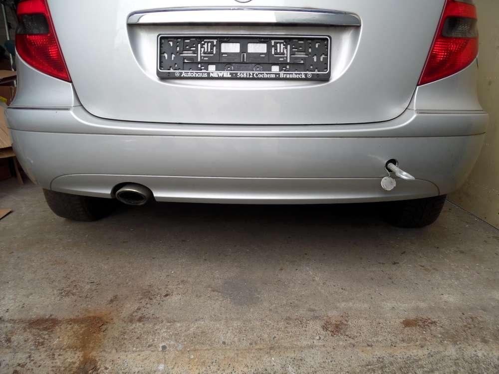 Mercedes Benz A-Klasse W 169 Stossstange Stossfänger Hinten Farbe: 761-Polarsil