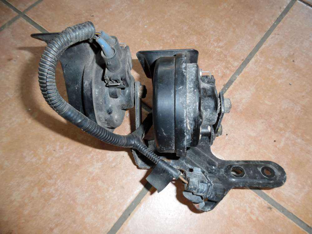 VW Golf 4 2x Hupe Signalhorn Hoch Tief 191951223 / 191951221