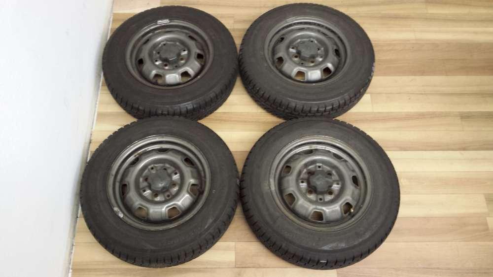 Kompletträder Winterreifen M+S Toyota  Starlet und Corolla 13x5J 155/80 R13 79T