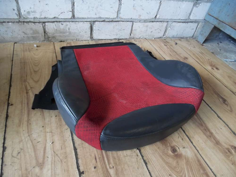 Mini Cooper Sitzbezüge Beifahrersitz Farbe: grau/rot Leder Sitze