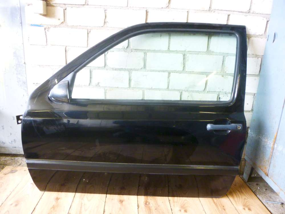 VW Golf III 1H1 3-türen Fahrertür Tür Vorne Links Farbcode: LC9Z