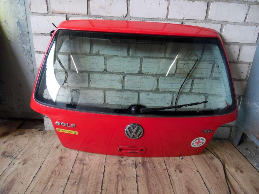 VW Golf IV Heckklappe Kofferraumklappe Rot Farbcode: LP3G