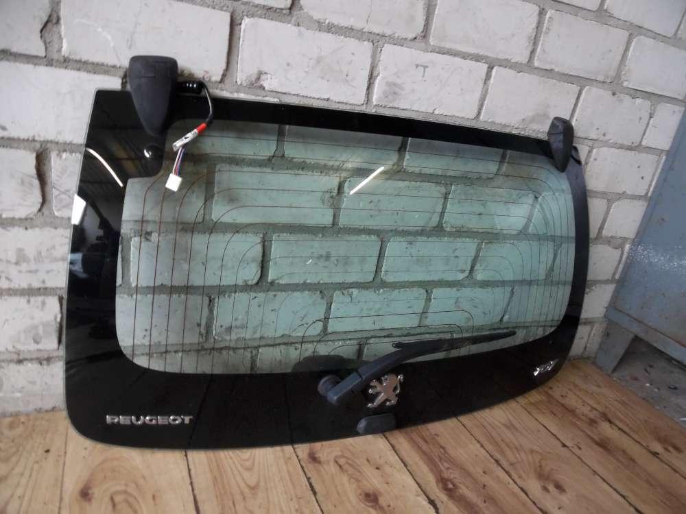 Peugeot 107 Heckklappe Kofferraumklappe Glasscheibe Heckscheibe