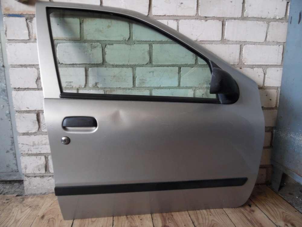 Fiat Punto 176 Beifahrertür Tür vorne rechts Farbe: Silber Grigio Steel 647