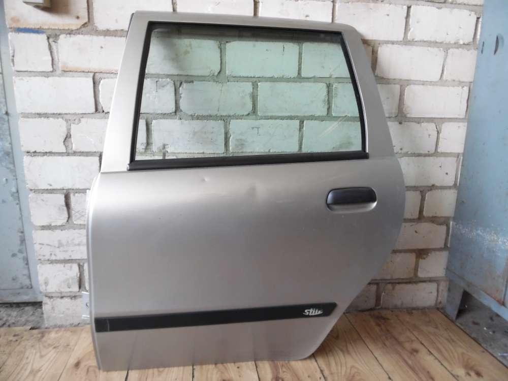 Fiat Punto 176 Tür Hinten Links Farbe: silber Grigio steel 647